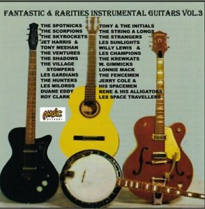 Various Artist - Fantastic & Raritie 50's & 60's Instrumental Guitars vol.3