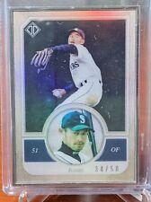 ICHIRO SUZUKI 2018 Topps Transcendent Framed Card /50 Mariners Yankees Marlins