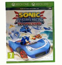 Sonic & All Stars Racing Transformed XBox One / Xbox 360 Kids Driving Game NEW