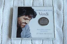 Andrea Bocelli: Verdi (CD, 2000, Philips, conducted by Zubin Mehta)