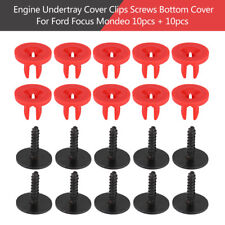 New Engine Undertray Cover Clips Bottom Cover Shield Guard for Ford Focus Mondeo