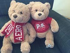 "Aeropostale Tan Teddy Bear Scarf 16'"" (2 in the deal)"