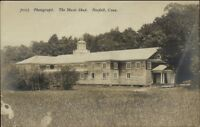 Norfolk CT The Music Shed c1910 Real Photo Postcard rpx
