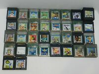 Nintendo Game Boy Color Games Fun You Pick & Choose Video Games Lot Tested GBC