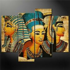 Modern Abstract Oil Painting Wall Decor Art Huge - Pharaoh of Egypt Frameless