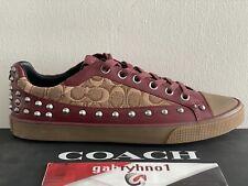 Coach Jacquard Studded Low Top G3411 Men's Size 11 Men Casual Spike Shoes