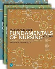 NEW Kozier and Erb's Fundamentals of Nursing, Vol. 1 By Audrey Berman Paperback