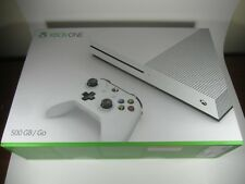 Empty Box Only! & packaging Xbox One S 500GB Console Microsoft returns gift new