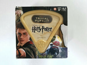 The World of Harry Potter Edition Trivial Pursuit Hasbro Gaming - New & Sealed
