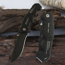 Tactical Folding Blade Knife Survival Hunting Camping Stainless Steel Pocket Kn.