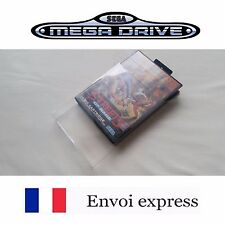 Protection transparente boite jeu Megadrive - boitier protector case box sleeve