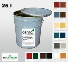 OSMO Landhausfarbe hoch ergiebig Langzeitschutz versch Farben 25 l ab 23,96 €/L