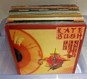 LOT OF  45 ROCK / POP VINYL LP's ~ KATE BUSH, JOAN BAEZ, BLONDIE, 10cc, ABBA +