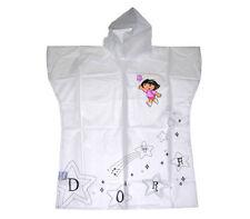 Rain Poncho Color Me Design Your Own Personalize DORA The Explorer Age 3+ New