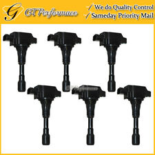 OEM Quality Ignition Coil 6PCS for 2009-2016 Nissan GT-R 3.8L V6, 22448-JF00B