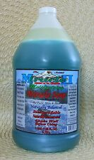 🌞 MIRACLE II  MOISTURIZING SOAP 128 Oz MOISTURIZER GALLON BOTTLE  NATURAL 2