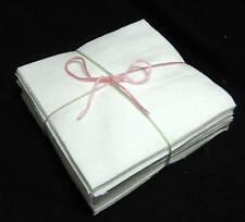 "42 6"" WHITE FLANNEL Rag Quilt Fabric Squares"