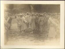 TOUTE PETITE PHOTO GUERRE WAR KRIEG 14/18 DEUTSCHE GEFANGENER LA MARNE 1915