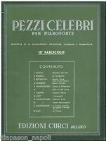 Berühmte Stücke Für Klavier III Heft - Curci
