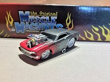 MUSCLE MACHINES 1965 FORD MUSTANG 1/64 DIECAST 65 MUSTANG   - muscle car -hot