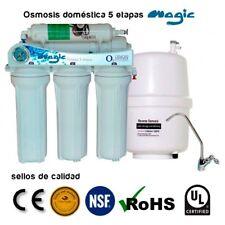 Osmosis inversa domestica 5 etapas MAGIC