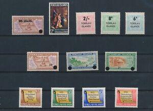 LN75313 Tokelau mixed thematics nice lot of good stamps MNH