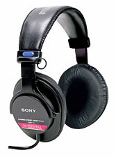 Sony MDR-V6 Over the Ear Headphones - Black