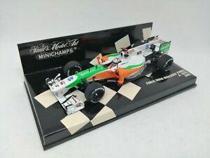 MINICHAMPS 1:43 - Force India Mercedes VJM03 A. Sutil 2010 410100014 COMO NUEVO