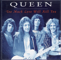 box cd Queen –  Too Much Love Will Kill You PHOTO BOOK UK 1996 LIMITED