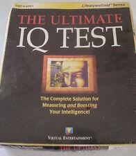 The Ultimate IQ Test PC CD-ROM Measurement & Boosting Raising Your IQ Score New
