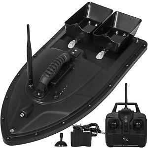 Elikliv Fishing Bait Boat Remote Control Bait Boat Carp Fishing Bait Boat RC Boilies Runtime 8Hours 1200g Anti Grass Wind 300M with LED Navigator Light