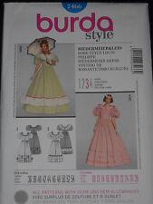 Civil War Dress Costume Size 10-28 Burda 7466 Sewing Pattern*