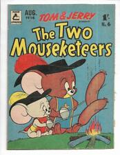 The Two Mouseketeers #6 1956 Australian Hot Dogs Cover!