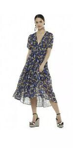 Maison La Talulah Floral 'Gravitate' Midi Dress L/14