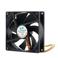 12V 3-Pin 9cm 90 x 25mm 90mm CPU Heat Sinks Cooler Fan DC Cooling Fan 65 CFM RT0