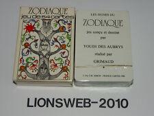 Französische Spielkarten Zodiaque - Grimaud - France - KARTEN UNGEÖFFNET