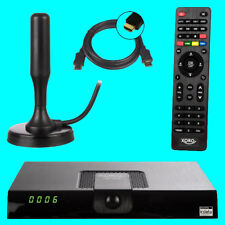 HD DVB-T2 Receiver Xoro HRT 8720 xoro 8724 HEVC H.265 USB HDTV PVR mit  Antenne
