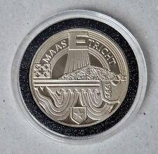 Netherlands 2.5 Ecu Token~1993 Maastricht~X#69~Copper Nickel 15g~ UNC
