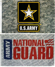 Wholesale Combo Lot 3' X 5' Army Strong Camo & Us Army National Guard Flag 3X5