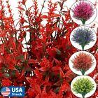 Artificial Flowers Fake Plants Decor 8 Bundles Vine Hanging Outdoor Home Garden