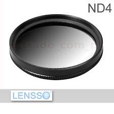 Verlaufsfilter Halb Graufilter ND4 - 62mm - 62 mm GREY FILTER + Filterbox
