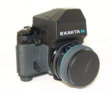 rare camera Ihagee Westberlin:EXAKTA 66 (Model II),XENOTAR E 2,8/80mm.Lens,6x6cm