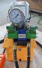 110V/60HZ 750W 70Mpa High Pressure Solenoid Valve Hydraulic Pump Two Oil Tube