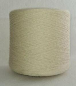 1,3 kg Garn Spule 8,95 €/kg rohweiß Nm 20 100% Wolle Konengarn wollweiß stricken