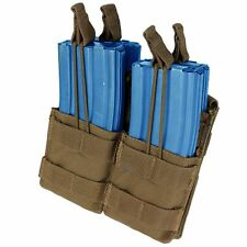 Condor MA43 Coyote Brown MOLLE Double Stack 5.56 .223 Mag Open Magazine Pouch