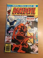 MARVEL: DAREDEVIL #131, 1ST & ORIGIN APPEARANCE OF BULLSEYE, KEY, 1976, VF (8.0)