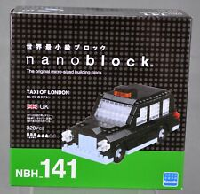 Nanoblock Taxi of London Micro-Sized Building Block Kit 320 Pieces NBH_141 NIB