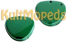2 Seitendeckel grün links rechts pas f Simson S51 S50 S70 Metall billardgrün