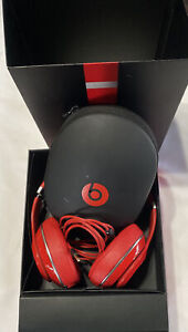 Beats DR. Dre Studio 2.0 Over the Ear Wired Headphone Red With Box EUC