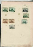 belgium  stamps page ref 18062